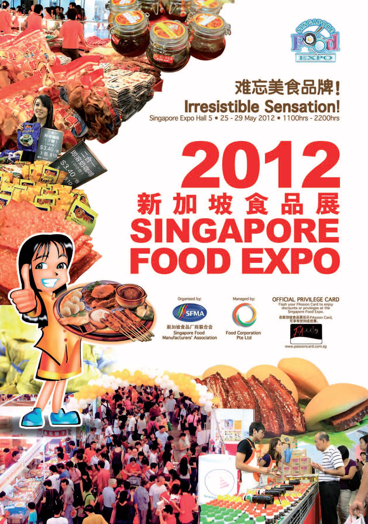 Singapore Food Expo 2012 Simply Sensational
