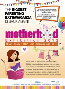 Singapore Motherhood Exhibition 2012