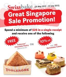 Swissbake Great Singapore Sale Promotions 2012