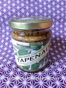 Waitrose Tapenade Green Olive Spread