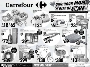 carrefour mother's day  supermarket promotions