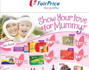 fairprice mother's day supermarket promotions