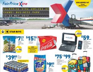fairprice xtra changi supermarket promotions