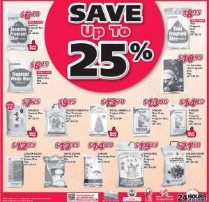 shop n save supermarket promotions rice