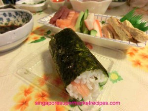 sushi handroll recipes