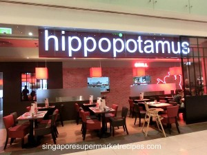 Hippopotamus Restaurant & Grill at Marina Square