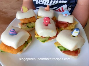 Sakura Mantou Sandwich Kids Recipes