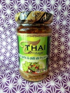 Thai Heritage Spicy Garlic & Chilli stir fry sauce