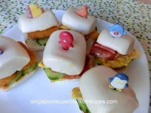 Sakura Mantou Sandwich Kids Recipes