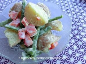 Mustard Mayo Potato Salad recipes using Carrefour Mustard Mayo