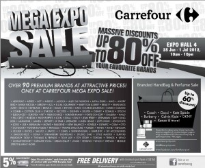Carrefour Mega Expo Sale