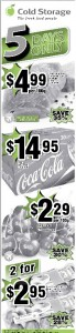 Cold Storage 5 days only Supermarket Promotions