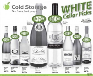 Cold Storage supermarket promotions wine