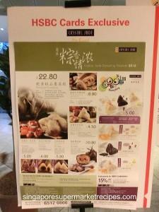 Crystal Jade Rice Dumplings Promotions