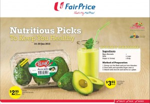 Fairprice Avocado Supermarket Promotions