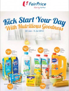 Fairprice Drinks Supermarket Promotions