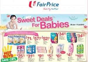 Fairprice Supermarket Promotions Baby Fair