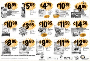 Giant Weekly Supermarket Promotions
