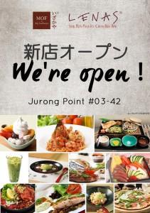 Lenas Jurong Opening