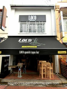 Loco Spanish Tapas Bar at Boat Quay