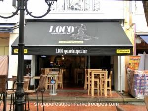 Loco Spanish Tapas Bar at Boat Quay