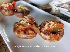 Loco Tapas - Stuffed Mushroom