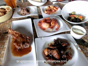 Loco Spanish Tapas Bar at Boat Quay - The Feast