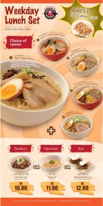 Menichi Weekday Lunch Set Promotions