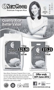 New Moon Rice Promotions