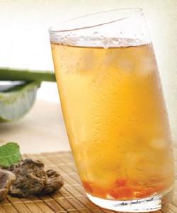 Plum & Cherry Tomato Juice with Aloe Vera