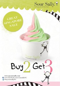 Sour Sally GSS Buy 2 Get 3 Promotions