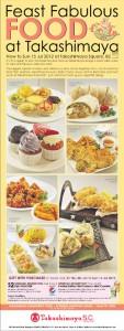 Takashimaya Food Fest 2012 Singapore