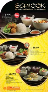 Thai Express Sa Nook Dining Promotions