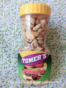 Tomers greaseless peanuts from Philippines