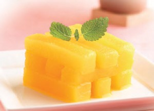 Winter Melon in Orange Juice