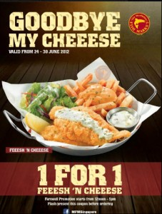 manhattan fish market 1 for 1 feeesh & cheeese promotions