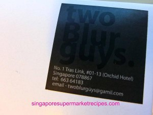 2 Blur Guys at Orchid Hotel