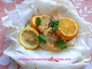 Paper bag Citrus Snapper Recipes