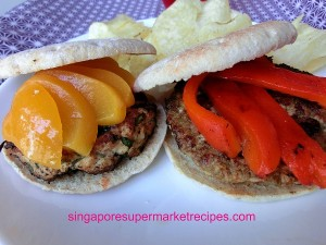 Thai Basil Pork Burger & Pesto Chicken Burger Recipes