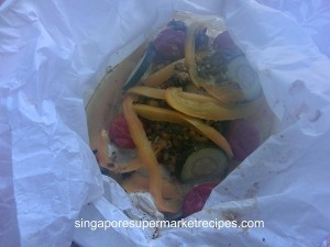 Paper Bag Thai Style Chicken