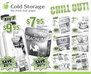 Cold Storage Chill Out Supermarket Promotions
