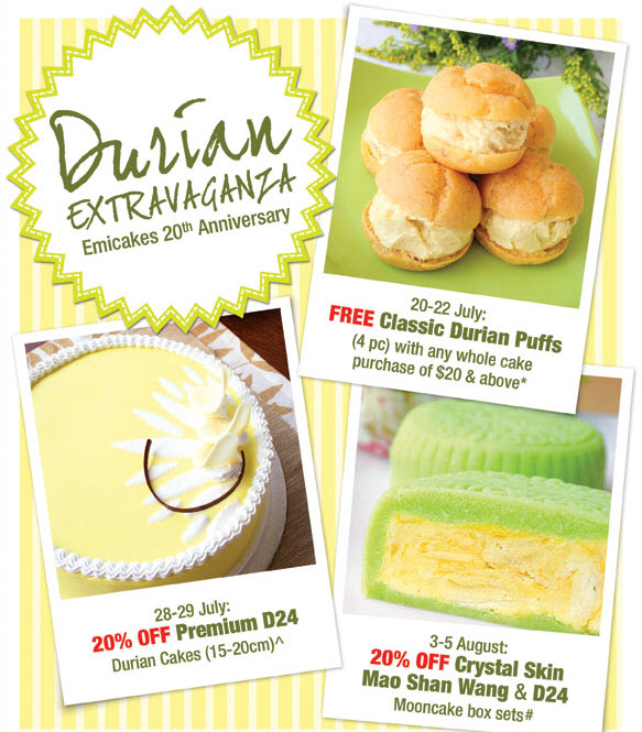 Emicakes Durian Fiesta