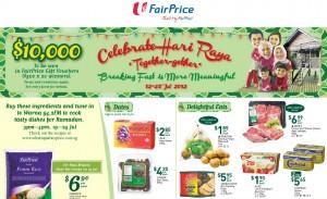 Fairprice Hari Raya Supermarket Promotions