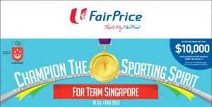 Fairprice Sports Champion Supermarket Promotions