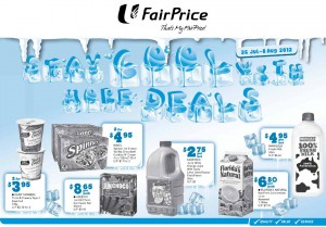 Fairprice stay cool supermarket promotions