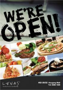 Lenas Hougang Mall Opened