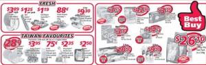 Shop n Save 4 days only supermarket promotions
