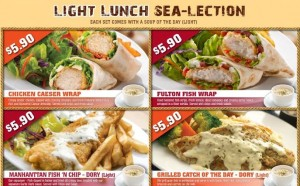 manhattan fish market spoilt for choice set lunch promotions
