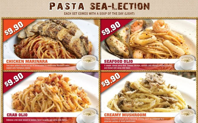 Manhattan fish market set lunch promotions spoilt for for Manhattan fish and chicken menu