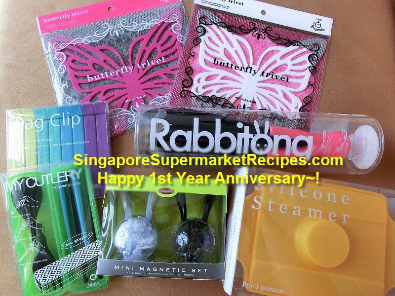 singaporesupermarketrecipes 1st year anniversary